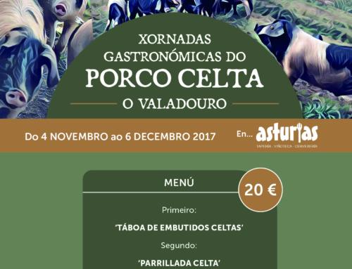 JORNADAS GASTRONÓMICAS DE LA RAZA PORCO CELTA EN O VALADOURO