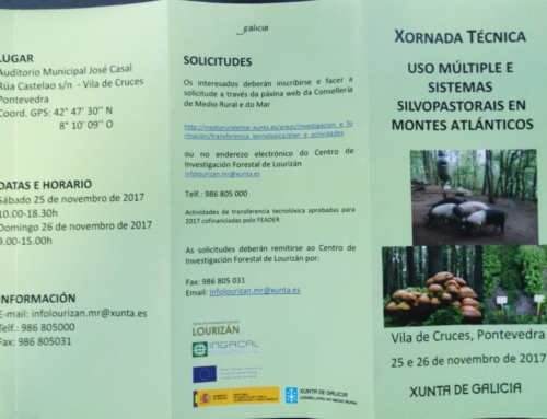 JORNADAS TÉCNICAS SOBRE USO MÚLTIPLE Y SISTEMAS SILVOPASTORALES EN MONTES ATLÁNTICOS
