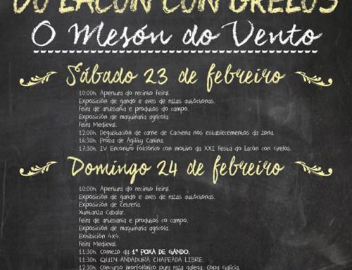 XXI FESTA DO LACON CON GRELOS NO MESON DO VENTO