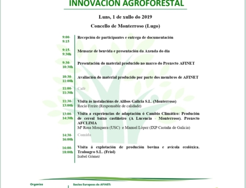 5ª REUNION RED GALLEGA INNOVACION AGROFORESTAL