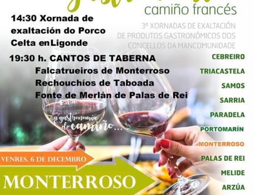 ITINERARIO GASTRONOMICO DEL CAMINO FRANCES